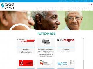 ContactGPS.ch - partenaires du projet