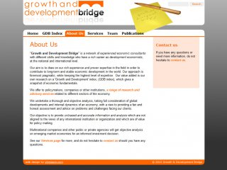 Growth and Development Bridge