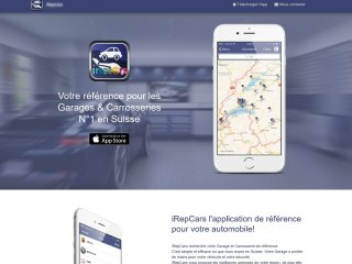 iRepCars: mini-site