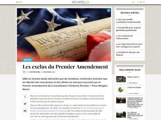 Réformés.ch : un article